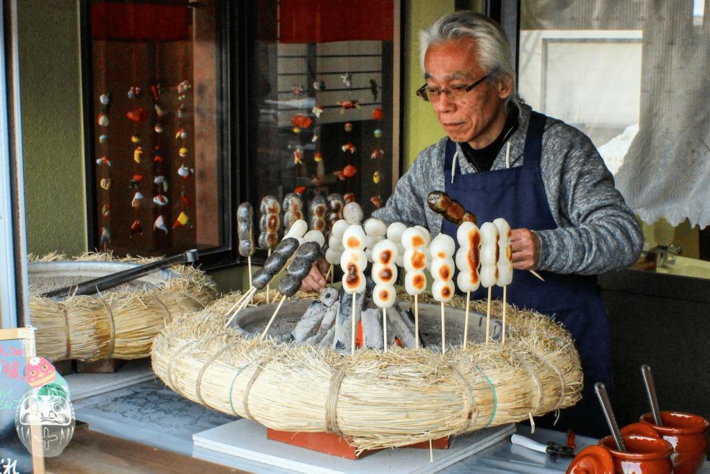 Dango-Stand in Nikko