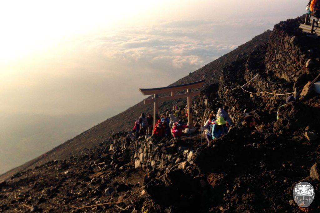 Ausblick knapp unterhalb des Gipfels