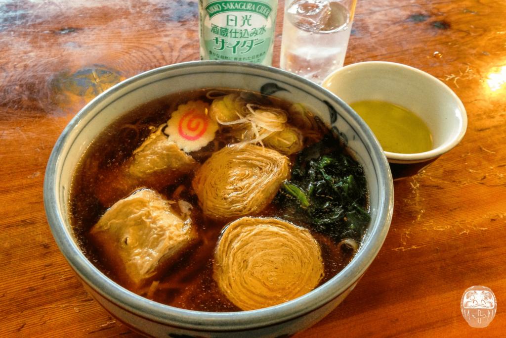 Yuba-Soba und Nikko Cider im Uoyou